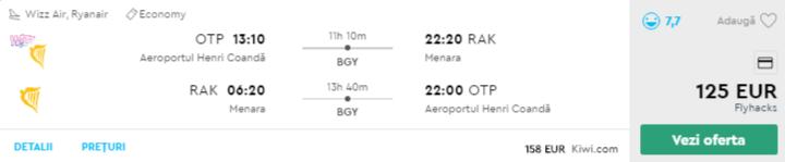 bilete avion ieftine marrakech