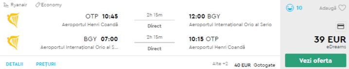 bilete avion ieftine in milano