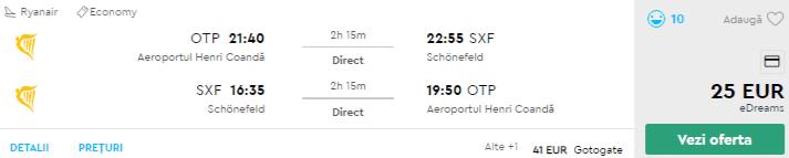 bilete avion in berlin