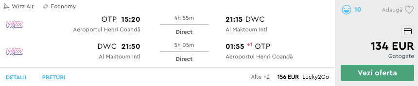 bilete avion dubai sept