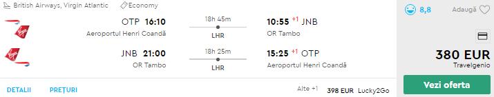bilet avion bucuresti africa de sud