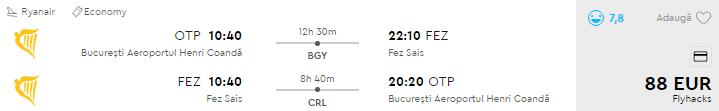 bilete avion bucuresti maroc