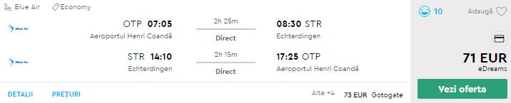 bilete avion bucuresti stuttgart
