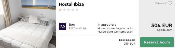 Hostal Ibiza cazare ibiza ieftin