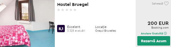Hostel Bruegel cazare in Bruxelles