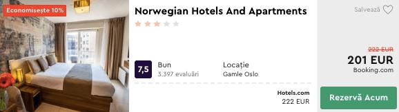 cazare ieftin in Oslo Norwegia