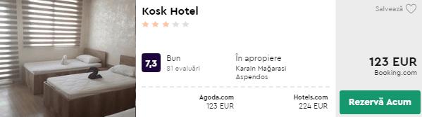 Kosk Hotel cazare turcia antalya