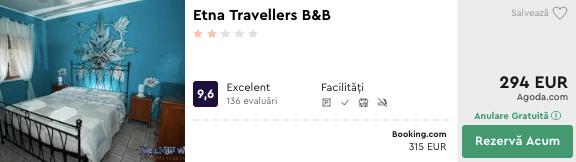 Etna Travellers cazare in sicilia - catania