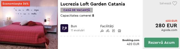 Lucrezia Loft Garden cazare catania ieftin