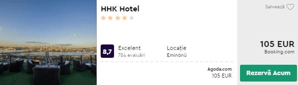 cazare istanbul - hhk
